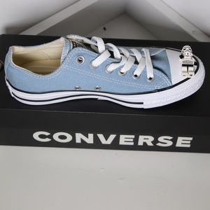 Converse Sky Blue Classic All Star Low Tops